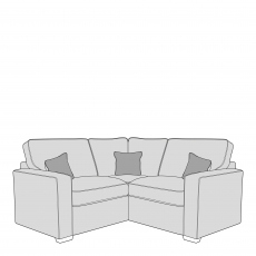 Layla - Standard Back 1 Seat Sofa RHF Arm, Corner With 1 Seat Sofa LHF Arm In Fabric