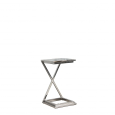 Trento - X Frame Side Table