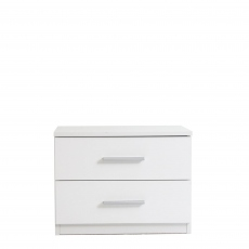 Amalfi - 2 Drawer Bedside