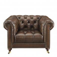 Churchill - Club Chair In Leather