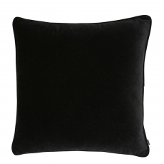 Regal Velvet Cushion Black