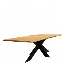 Excalibur - Dining Table Extreme Edge Denver Leg 200 x 100cm