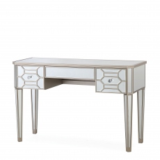 Ruby - 3 Drawer Mirrored Dressing Table