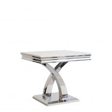Caesar - Lamp Table In Bone White