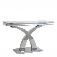 Caesar - Console Table In Bone White