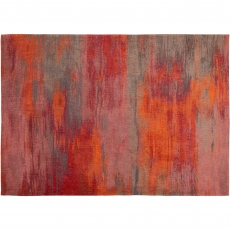 Atlantic Collection Monetti Rug Hibiscus Red 9116
