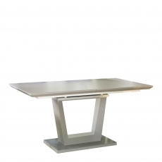 Antonio - Matt Grey Extending Dining Table