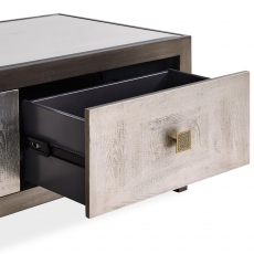 Horizon - Coffee Table - Silver Paint Finish