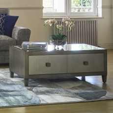 Coffee Table - Silver Paint Finish