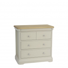Oliver - Chest Of 2+2 Drawers Morning Dew/Mist Top