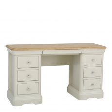 Oliver - Double Dressing Table Morning Dew/Mist Top