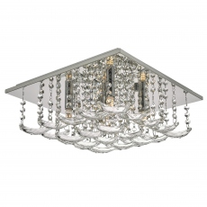 Flotilla 5 Light Crystal Flush