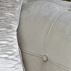 Gabriella - Pillow Back 2 Seat Sofa In Fabric Band 1