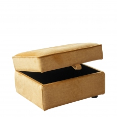 Anneka - Storage Footstool In Fabric Grade H