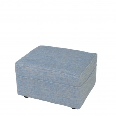 Anneka - Footstool In Fabric