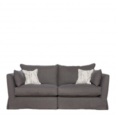 Collins & Hayes Maple - Loose Cover Standard Back Medium Sofa In Fabric