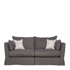Collins & Hayes Maple - Loose Cover Standard Back Small Sofa In Fabric