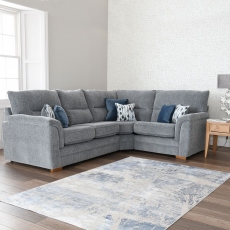Grace - 2 Seat RHF Arm Corner 1 Seat LHF Arm Sofa Group In Fabric Augusta