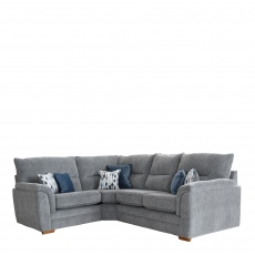Grace - 3 Seat RHF Arm Corner 1 Seat LHF Arm Sofa Group In Fabric Augusta