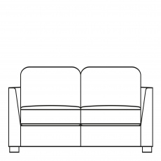 Sasha - 224cm Extra Large Sofa In Fabric