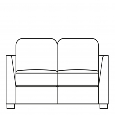 Sasha - 194cm Large Sofa Bed In Fabric