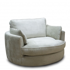 Sasha - Swivel Chair In Fabric