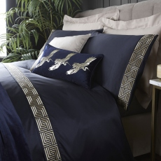 Laurence Llewelyn-Bowen Riva Navy Duvet Cover Set King