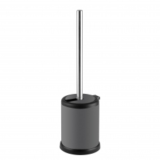 Ariel Toilet Brush & Holder Grey