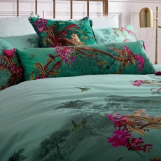 Ted Baker Hibiscus Bolster Cushion Jade