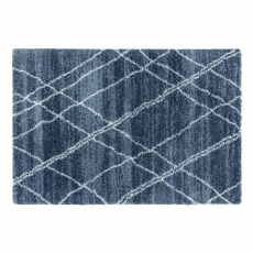 Alto Rug AL01 Blue and Cream
