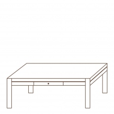 Porto - 130x70cm Coffee Table Oak