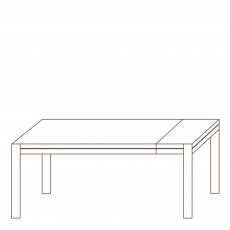 Porto -190 Extending Dining Table Oak