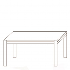 Porto - 130 x 88cm Dining Table Oak