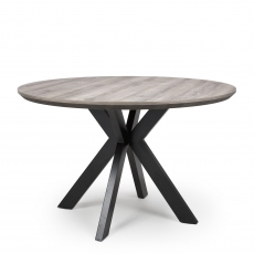 Rochester - 120cm Fixed Top Round Table