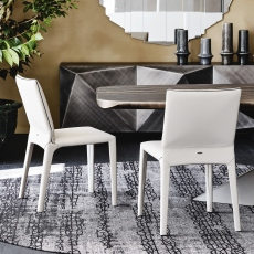 Cattelan Italia Penelope - Dining Chair In Soft Leather