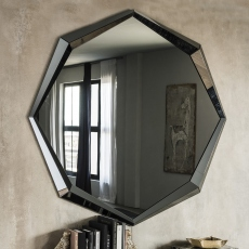 Cattelan Italia Emerald - Mirror Mirrored Smoke Grey Glass