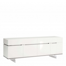 Heiron - Large Buffet In White High Gloss