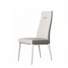 Polar - Side Chair In Eco Leather Top 600 Fabric
