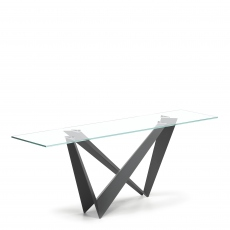 Cattelan Italia Westin Glass - Console Table