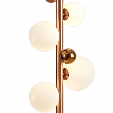 Hilo Floor Lamp copper opal