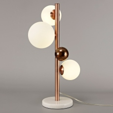 Hilo Table Lamp Copper Opal