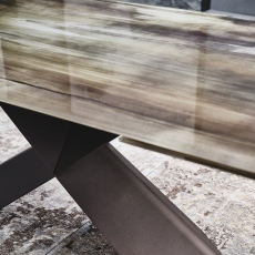 Cattelan Italia Tyron Crystalart Drive - Extending Dining Table 200cm