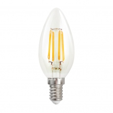 LED Candle 4w SES Clear Warm White Dimmable