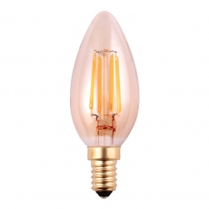 LED Candle 4w SES Tinted Dimmable