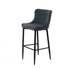 Copeland - Counter Bar Stool In Dark Grey PU