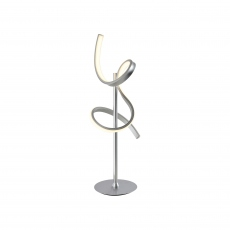 Jazz Table Lamp Silver