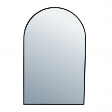 Danny Arched Mirror Medium Black