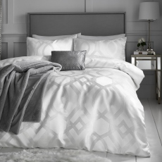 By Caprice Harlow Ivory Duvet Cover Set