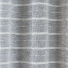 "Antigua Eyelet Headed Voile Panel Grey 90"" Drop"