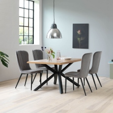 Holmwood - 160cm Dining Table In Natural Oak Finish